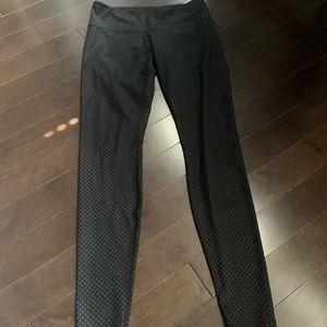 Lululemon ultra rare polka dot black pants